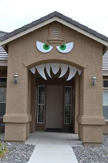 house with teeth