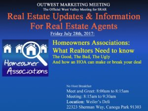 Workshop on Homeowners Associations: How HOA Variables Can Make or Break a Purchase Transaction